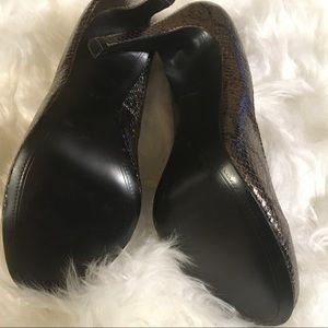 Kelsi Dagger Shoes - Kelsi Dagger Snakeskin Heels